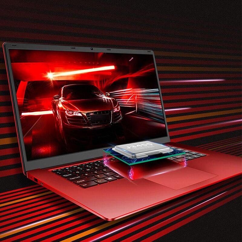 15.6 polegada 8GB de RAM + 128GB SSD/1 TB HDD Intel Quad Core CPU 1920X1080P Full HD Home Office Escola Notebook Laptop Computador