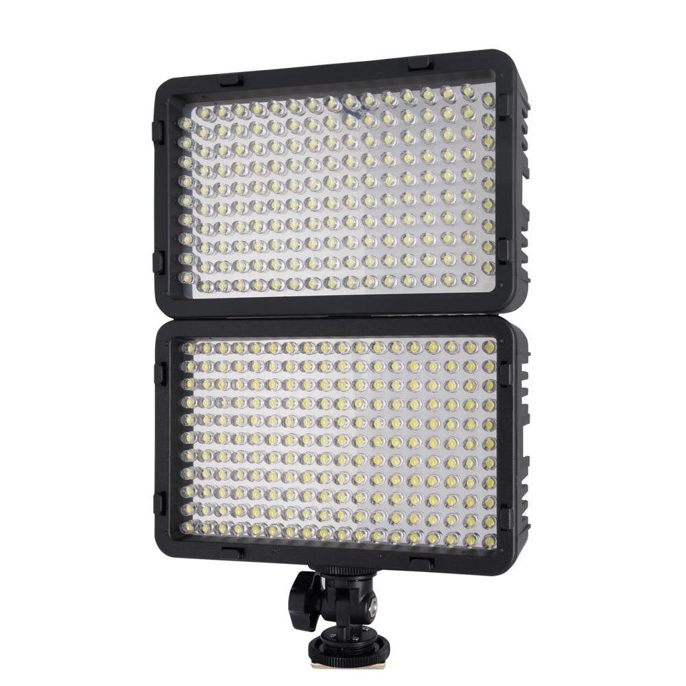 Mcoplus 198 LED - Kit de luz de video de ultra alta potencia para - Cámara y foto - foto 4