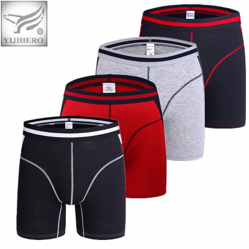 Free Mens Underwear Boxers Long leg Men Boxer Homme Slip Panties Men's Underpants Hombre Boxershorts Brand Man
