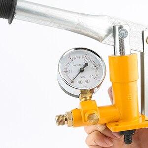 "Image 5 - 알루미늄 2.5MPa 25KG 수압 시험기 수동 유압 테스트 펌프 기계 G1/2 ""호스"