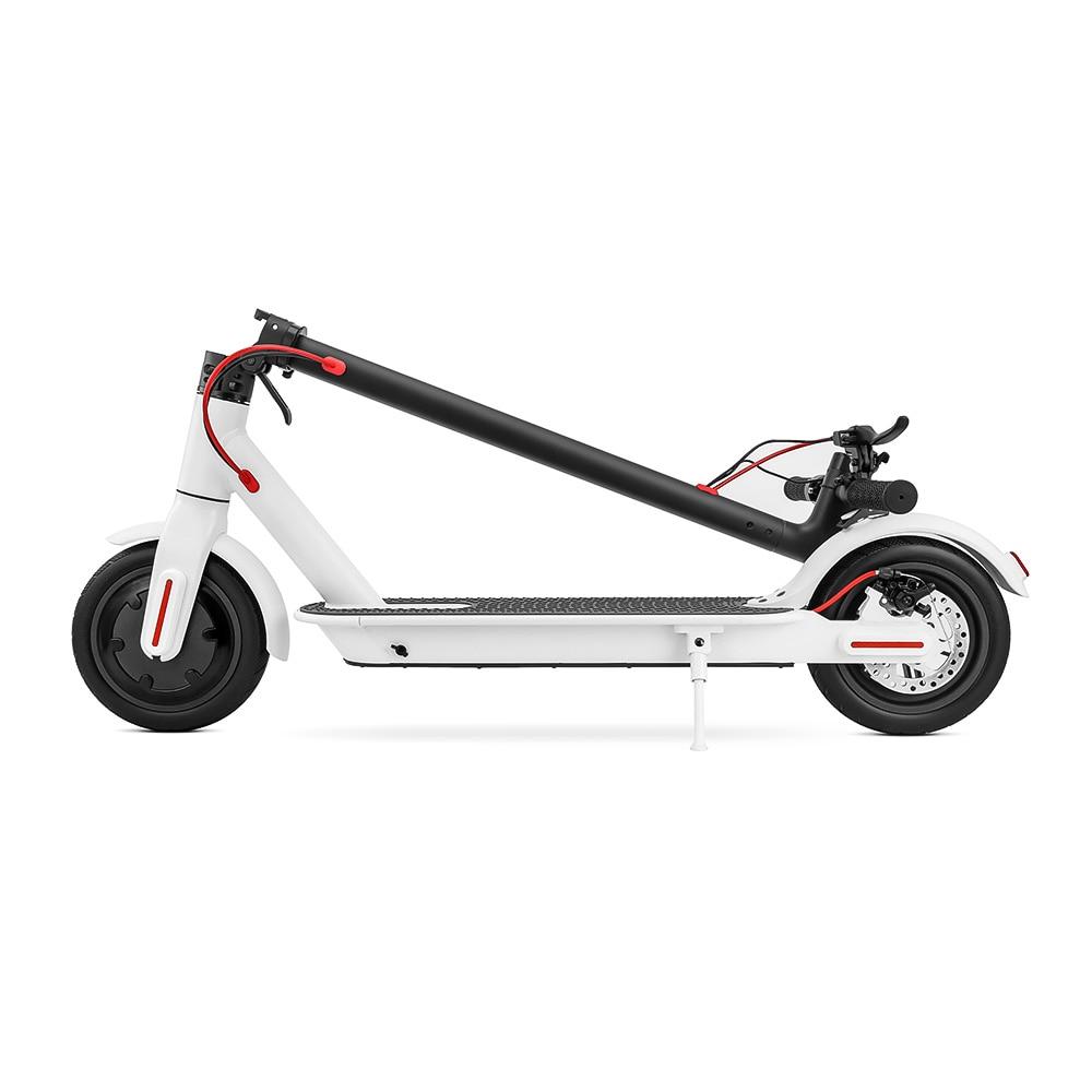 Planche à roulettes électrique électrique se pliante intelligente de Scooter électrique de longboard Hoverboard avec l'affichage d'écran d'affichage à cristaux liquides de 2 roues de lumière LED - 2