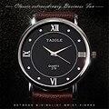 Yazole Relógios Pulseira de Couro Relógio de Quartzo Homens de Negócios de Moda Clássico Simples Dos Homens Relógios Relogio Musculino