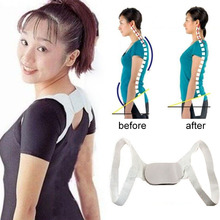 1PC Adult Adjustable Shoulder Support Belt Flexible Posture Back Belt Correct Rectify Posture Shoulder Corrector Health Care Y2