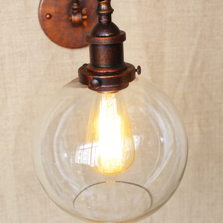 Do Vintage Loft Industrial Luminárias Arandela Arandela Applique Murale