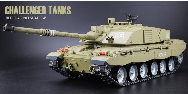 f79904874362 2.4Ghz RC 1 16 British Main Battle Tank model Challenger 2 Tank ...