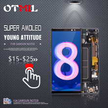 OTMIL 6.3Amoled For SAMSUNG Galaxy Note 8 LCD Screen with Frame N950 Note8 Display N950FD N950U Screen#1