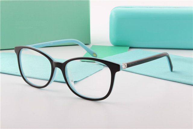 2bd9d15e4e Fashion TR90 Eyeglasses Women Brand Acetate Full-rim Glasses Optical Frame  Reading Eyewear Spectacle Frames
