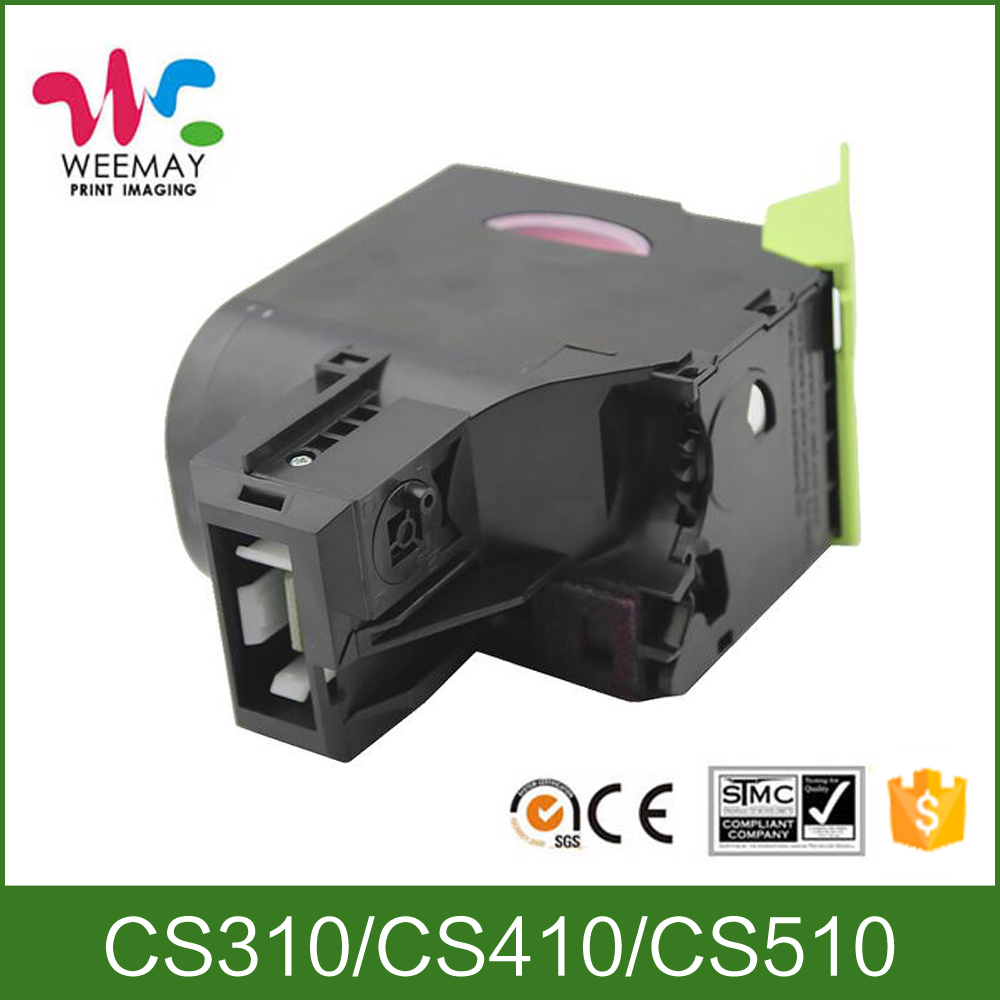 Factory price toner compatible Lexmark CS310 CX310 color toner cartridge цена и фото