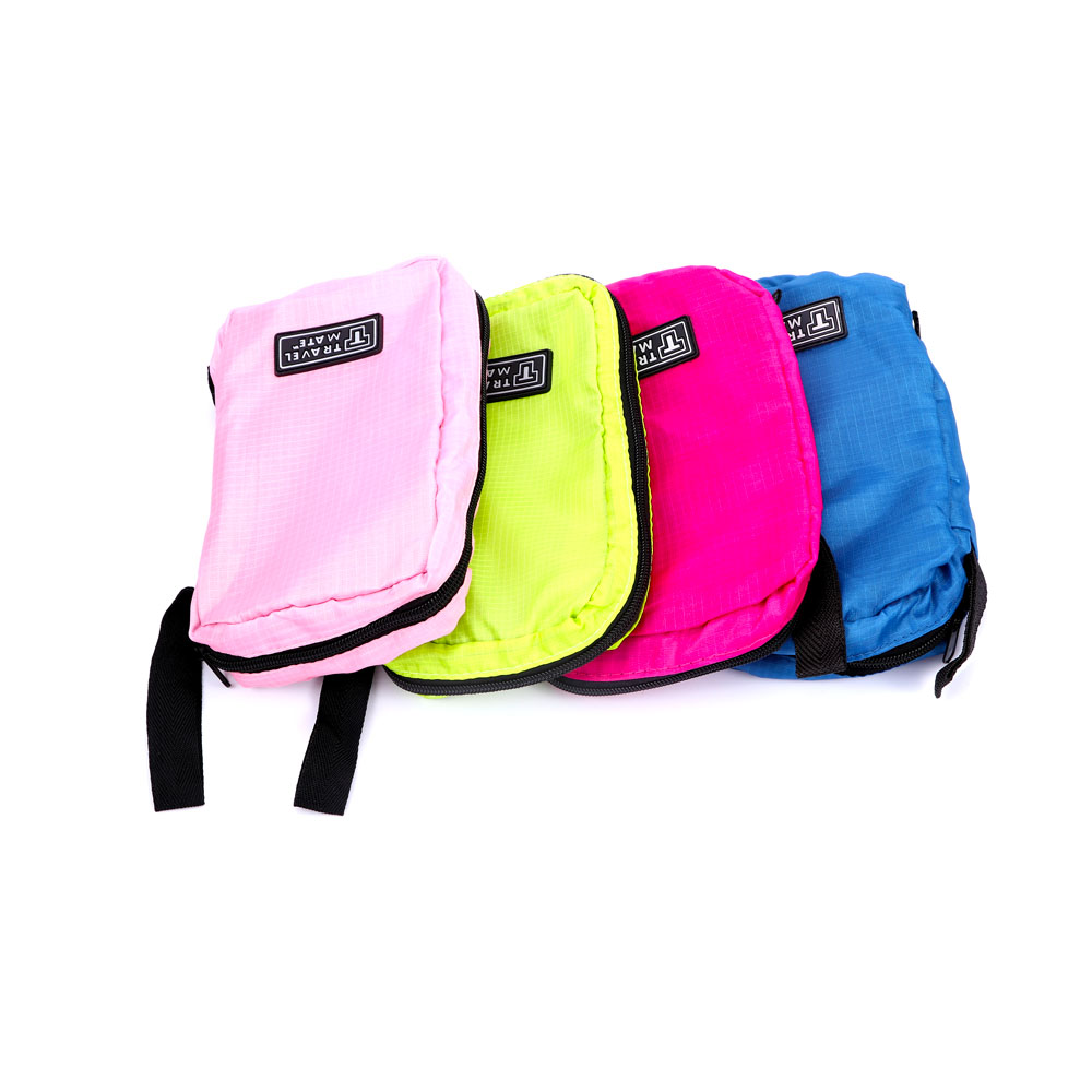 New Useful Travel Hanging Toiletry Bag Large Kit Folding Makeup Organizer  for Men   Women Nylon c2b14f93e6b2c