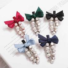 Fashion Pearl Hair Clip Women Hairpin Girls Hairpins Barrette Head wear Cutey Accessories New Arrival