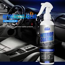 Car Interior Cleaner Agent Roof Fabric Flannel Leather Seat Cleaning Wax Coating Polishing Spraying