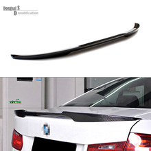 carbon fiber replacement spoiler 3 series f30 M4 style rear trunk spoiler wings for bmw 3 series f30 2012+ 320i  325i 328i 335i white yellow turning signal concept m4 iconic style led angel eye for bmw 3 series f30 320i 328i 335i 330i 340i 318i 330e 13 17
