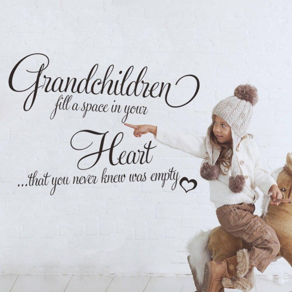 Popular Grandchildren Wall Decals-Buy Cheap Grandchildren ...