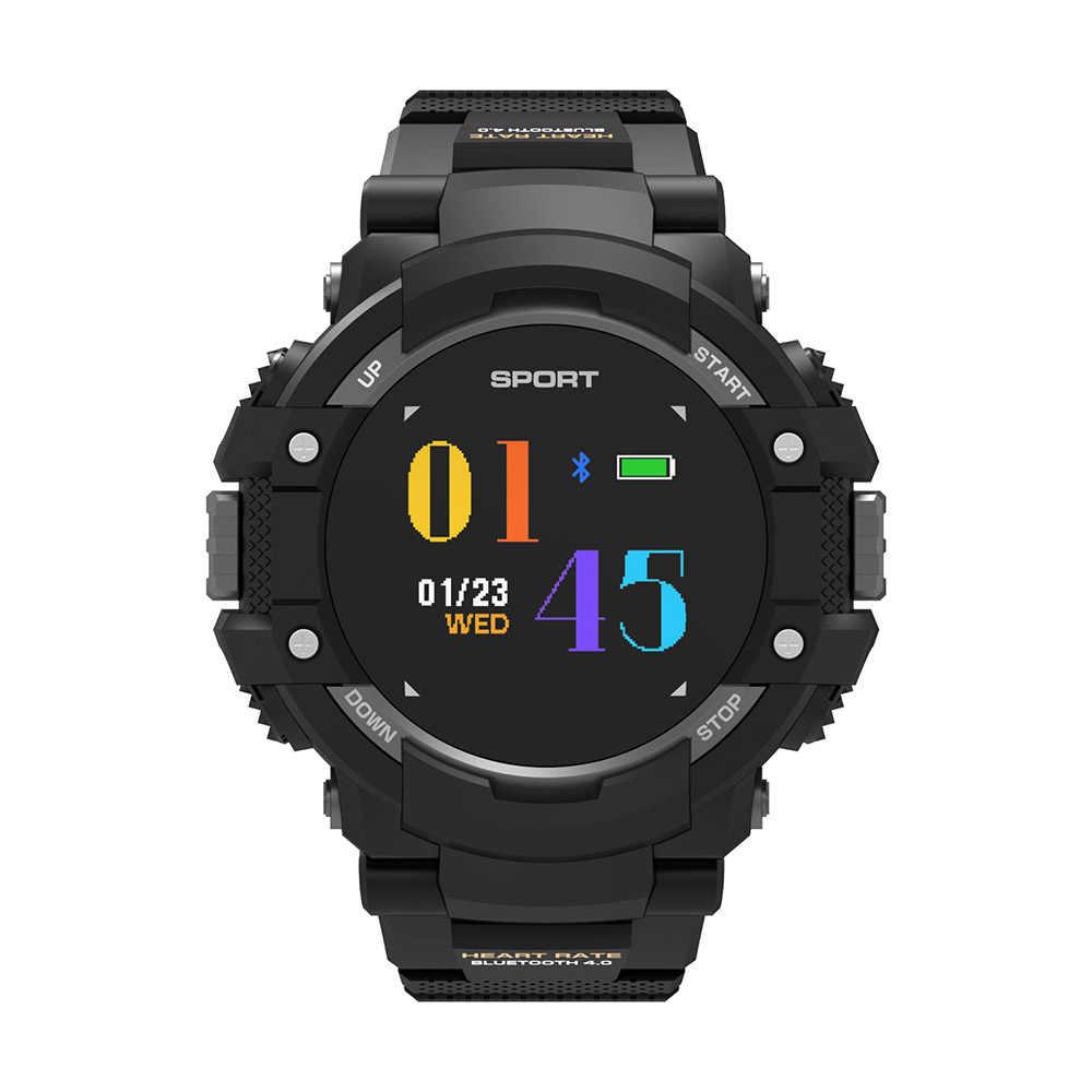 スマートブレスレットウォッチ N27 GPS 屋外スポーツスマート腕時計カラー画面コンパスハート高さ温度リアルタイム PK スマートウォッチ f6