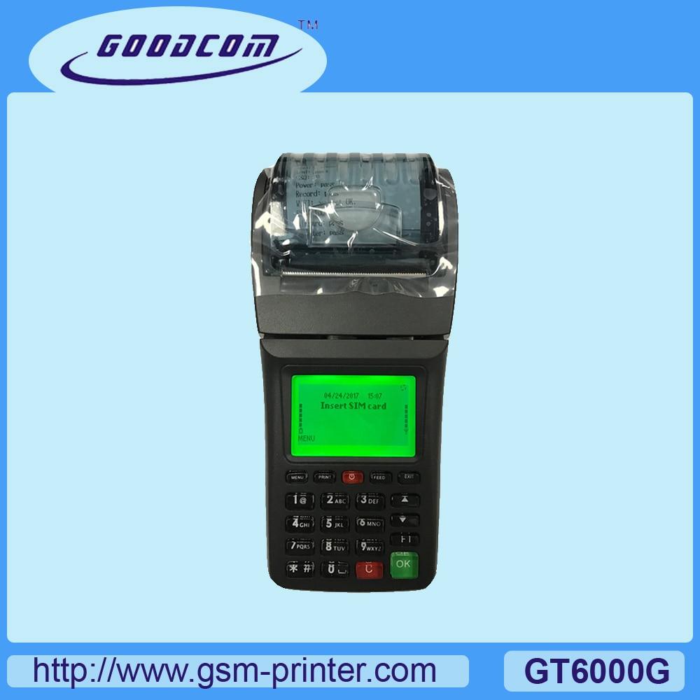 GOODCOM 3G Printer Food Popular-In-Australian-Market Hanheld for Online Delivery GT6000G