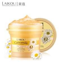 LaiKou Facial Exfoliator Camomile Germany Face Cream Whitening Gel Skin Care Moisturize Vitamin C Collagen Exfoliating