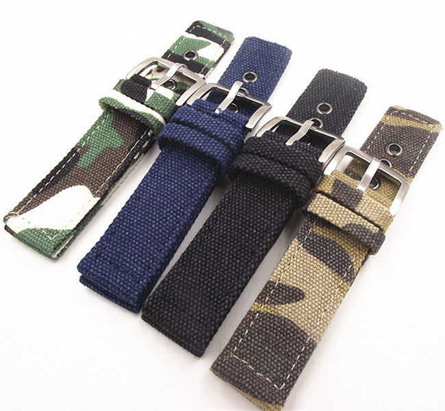 Wholesale 10PCS/lot Fabric straps 18mm 20mm 22mm 24mm Fabric Watch band NATO strap short zulu strap watch strap wholesale 10pcs lot 18mm 20mm 22mm 24mm nato strap genuine leather coffee color watch band nato straps zulu strap watch straps