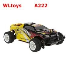 Wltoys A222 1/24 2.4 г электрический щеткой 4WD RTR RC гоночный автомобиль