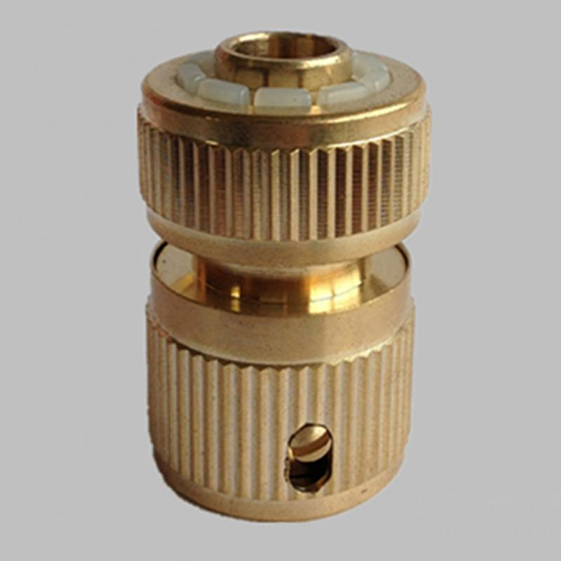 цены Solid Brass Copper Metal Threaded Water Pipe Connector Tube Tap Snap Adaptor brand new