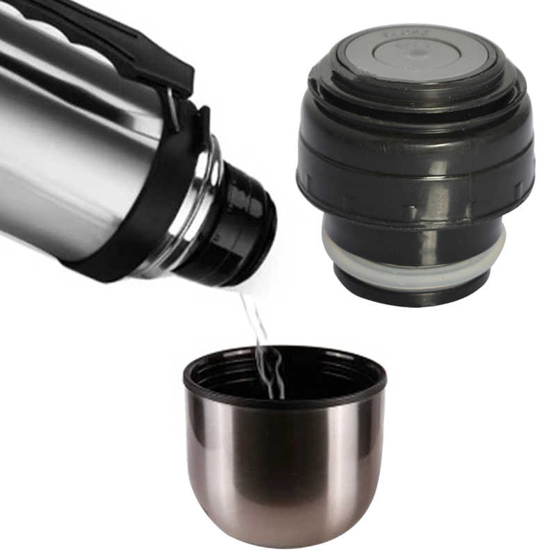 Thermos Mug Cover Outdoor Travel Cup Vacuum Flask Lid Drinkware Mug Outlet Bullet Flask Cover Stainless Thermoses Accessories