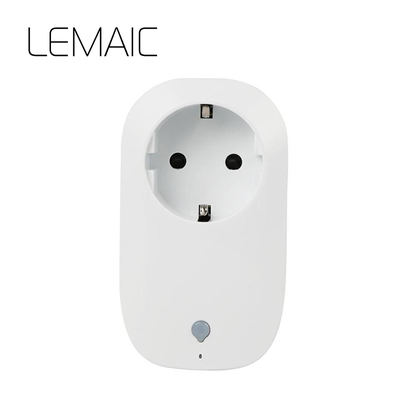 LEMAIC Smart Plug Energy Saving Socket EU Plug Multiple Users Control WiFi Socket socket plug outlet smart Home Automation S4 wifi smart socket plug schedule function app remote control electronics energy saving for smartphone tablet ac 100 250v eu plug