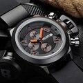 MEGIR Silicone Men Watches Luxury Brand Top Quartz Clock Male CHRONOGRAPH 24 Hours Function Sports Watch Relojes Hombre