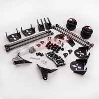 Universal Rear Triangulated 4 Link Kit Air Ride Suspension Brackets 2500 Bags