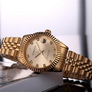 Image 4 - TORBOLLO frauen Armbanduhren Luxus Silber Rosa Zifferblatt Quarz Weiblichen Uhr Diamant Auto Datum Mode Damen Armbanduhr Neue Top