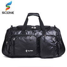 2017 Top Quality Professional Large Sport Bag Gym Bag Men Women Independent Shoes Storage Training Fitness Bag Portable Shoulder