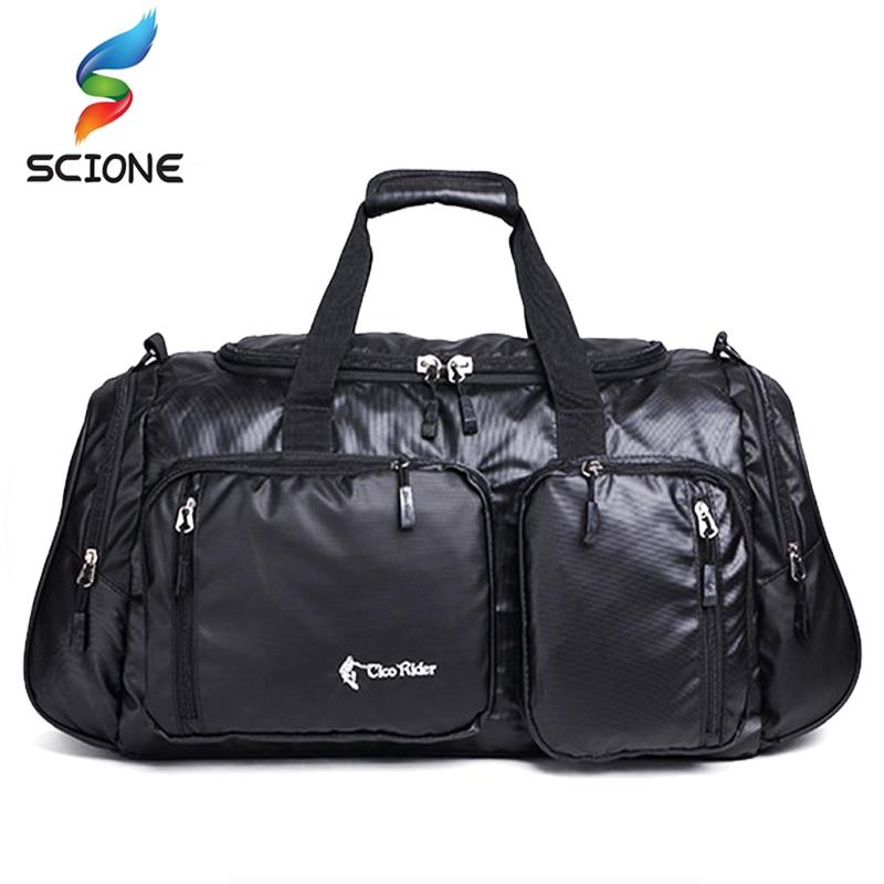 Top Quality Professional Large Sport Bag Gym Bag Men Women Independent Shoes Storage Training Fitness Bag Portable Shoulder