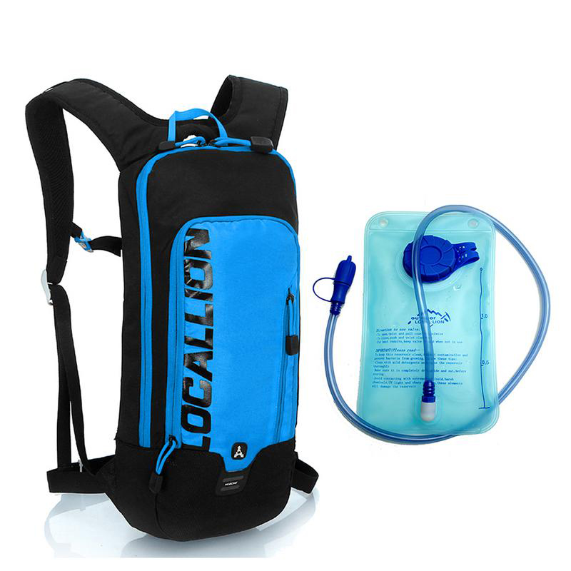 8b373c5e601802 LOCAL LION Cycling Backpack Hydration Waterproof Backpack With Water  Bladder Bag Running Sports Bag Backpack Cycling Rucksack 6L