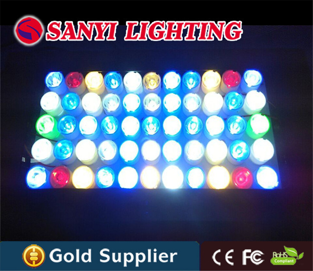 120w Aquarium Marine Led Lights, LED Aquarium Plant Grow Light, 7 Spectrum  Marine Aquarium