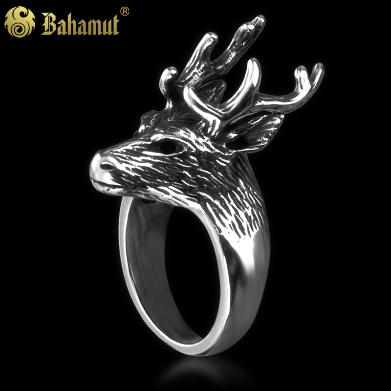 A Song of Ice and Fire Game of Thrones The House of Baratheon Deer Ring High Quality Titanium Steel Ring Free Shipping game of thrones hear me roar lannister theme 3d bronze quartz pocket watch a song of ice and fire related product gift page 6