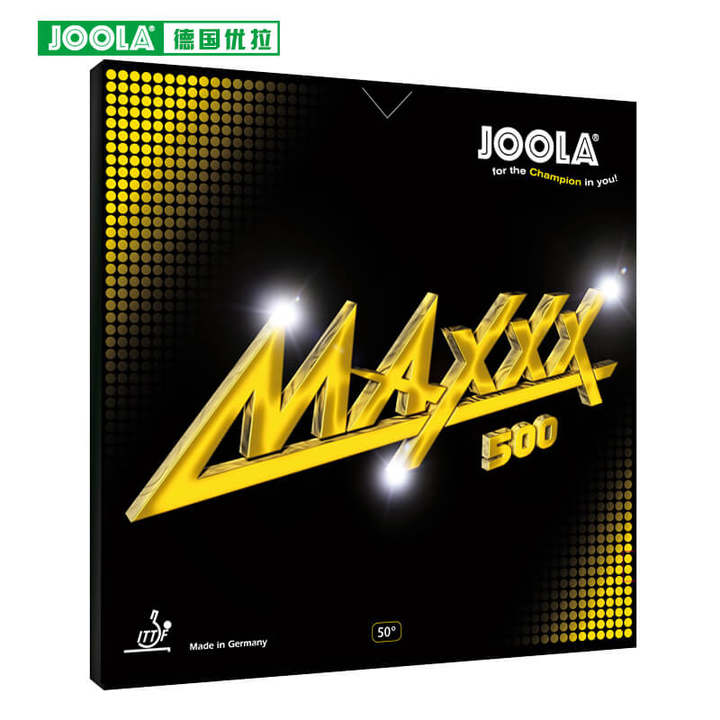 Joola MAXXX 500 (Aruna forehand, Speed & Spin) Table Tennis Rubber Pimples In With Sponge Made in Germany цена