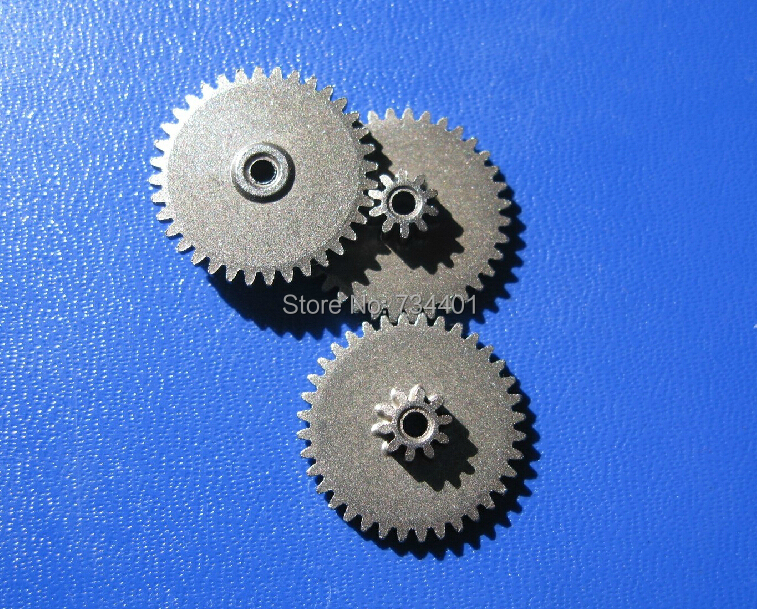 10 tooth /36 tooth, double gear, metal gear, 0.5 module /0.5 module, inner hole 2/Meat Grinder Parts etc. mg90s copper tooth metal gear tilt steering gear 360 degree