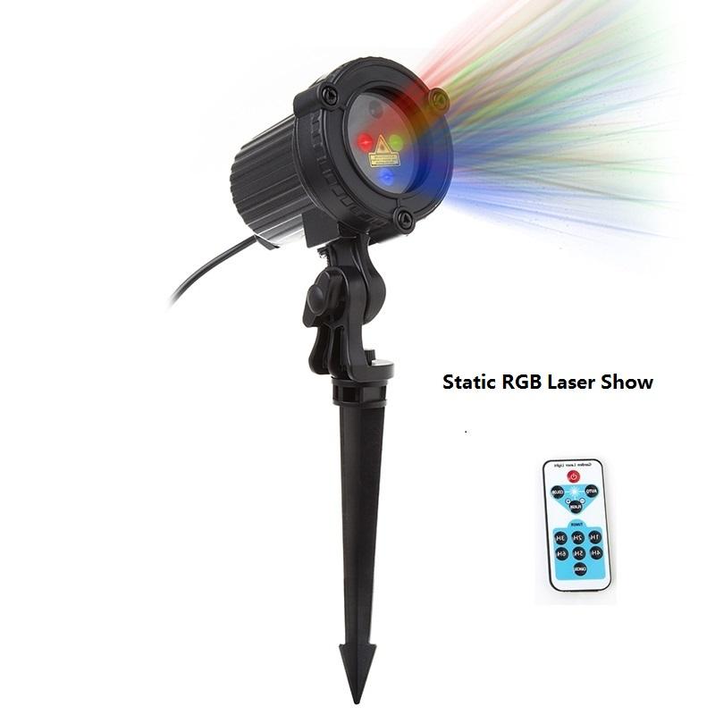 Image 4 - RGB shower outdoor Move Stars Laser lamp Remote Christmas lights Garden Waterproof IP65 Xmas Holiday Decoration For Home-in Stage Lighting Effect from Lights & Lighting