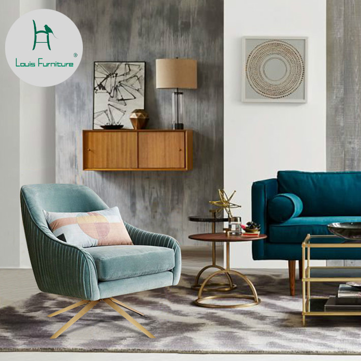 Cool Us 509 9 Louis Fashion Living Room Sofas Nordic Cloth Art Revolving Single Simple Living Room Modern Luxury In Living Room Chairs From Furniture On Forskolin Free Trial Chair Design Images Forskolin Free Trialorg