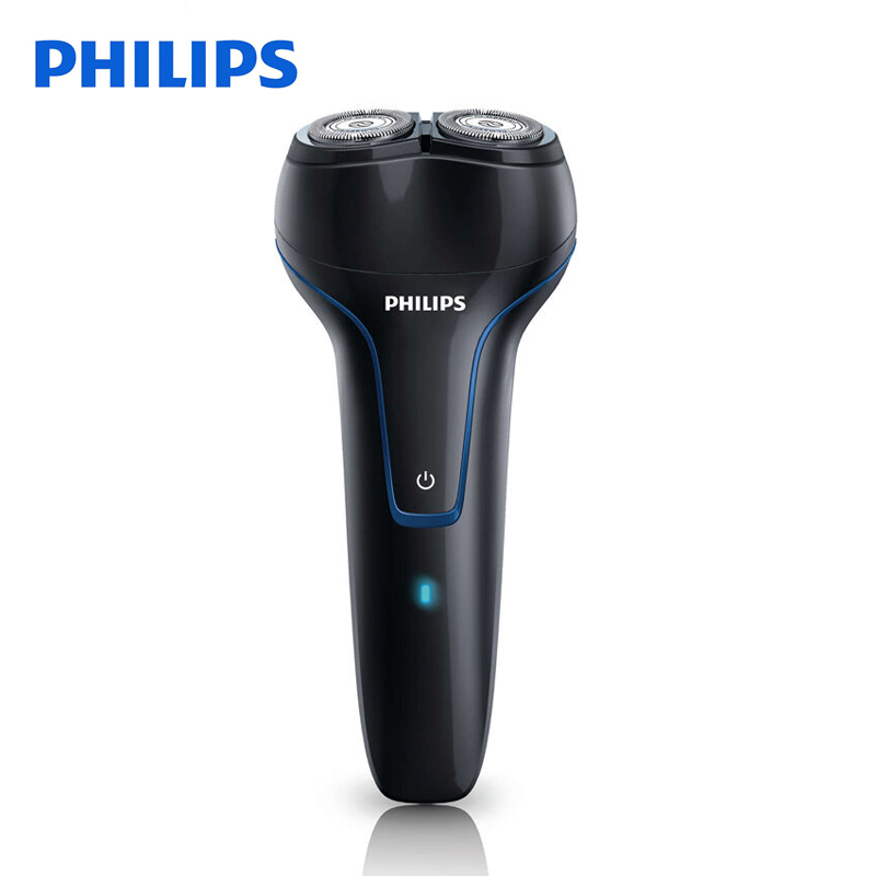 Philips Professional Electric Shaver PQ226 Rechargeable With Two Floating Heads Facial Contour Tracking For Men Electric Razor philips electric shaver s330 rotary rechargeable and body wash design for men s flexible veneer system with retail package