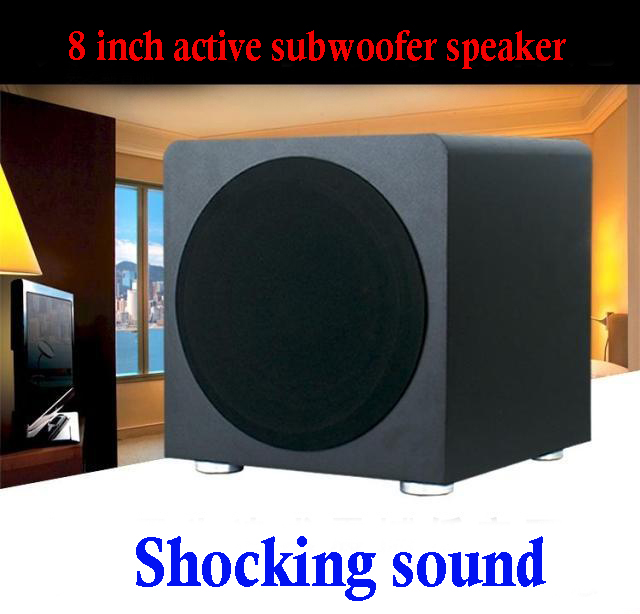 8 Home bass 8 inch active speaker high power 200W active subwoofer speakers
