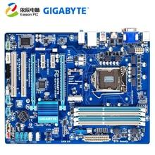 цена на GIGABYTE GA-Z77-DS3H desktop computer motherboard LGA1155 DDR3 i3 i5 i7 ATX