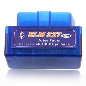 Image 4 - Mr Cartool Car OBD2 2 II ELM327 EML 327 V1.5 MINI Bluetooth Auto ODB 2 Software 12 Kinds General CAN BUS Double Bboard