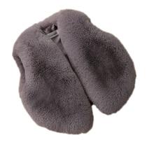 ФОТО 2017 toddler boys girls winter jacket baby faux fur winter vest children imitation fur coats short section vest girl wastcoat