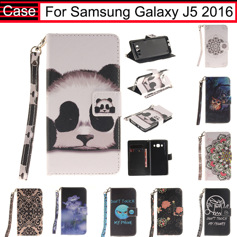JURCHEN For Samsung Galaxy J5 2016 J510 J510F J5100 J5108 Case Cover Soft Leather Flip Case For Samsung Galaxy J5 2016 Case 40