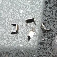 100 шт. кожа скобы крепеж Держатели Медь для зажим ремня Keeper Leathercraft