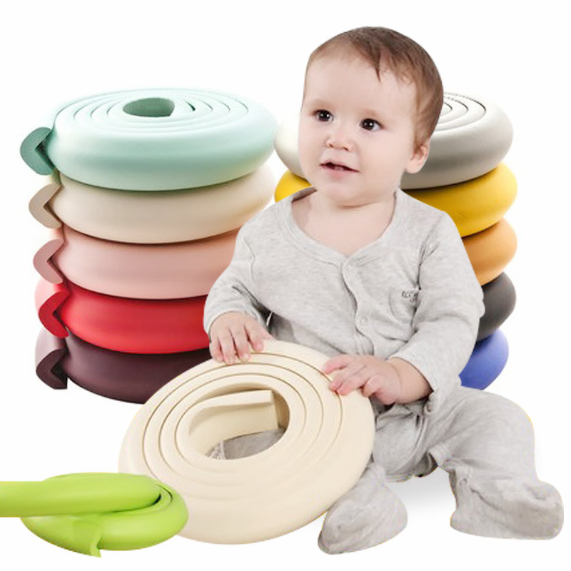 4pc/lot Furniture Bumpers Corner Protectors For Children Table Safety Protection Foam Angle Table Baby Safe Corner Protector