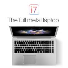 Лидер продаж клавиатура с подсветкой ноутбука PC 15,6 дюймов VOYO VBOOK I7 Intel Dual Core процессор i7 6500U до ГГц FHD 3,1 экран type-c HDMI