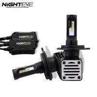 Nighteye H4 HB2 9003 Auto Car Led Headlights Hi Lo Beam Driving Fog Light Lamps Bulbs