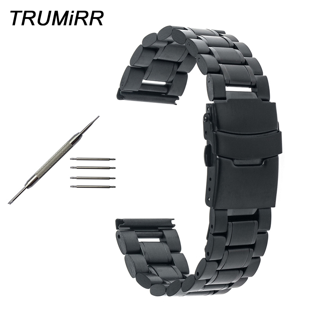 Stainless Steel Watch Band for Tissot 1853 T035 T050 <font><b>PRC</b></font> <font><b>200</b></font> T055 T097 T099 Safety Clasp Strap Bracelet 16mm 18mm 20mm 22mm 24mm image