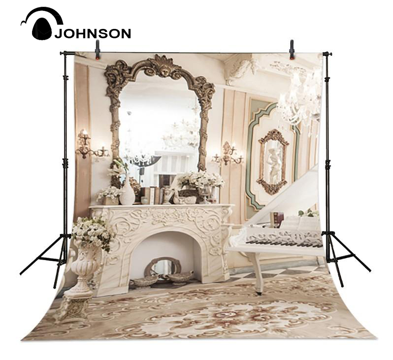 Girl Boudoir Mirror Room Photography Backgrounds High-quality Vinyl cloth Computer printed party backdrops new year santa workshop backgrounds for sale vinyl cloth high quality computer printed christmas backdrops