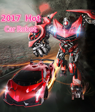 Jia QI tt667 electric remote control car star one key deformation car robot toy with cool voice and LED light VS WS21215 robot
